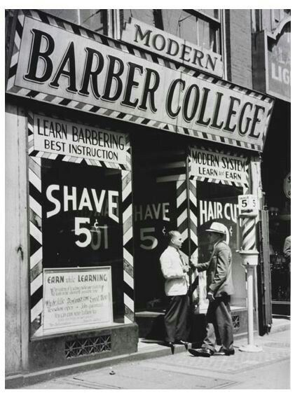 Man Cave Barber Williams Lake : Best vintage barbershop images on pinterest barber