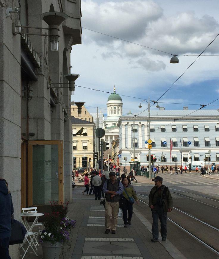 Summer in Helsinki. Finland.