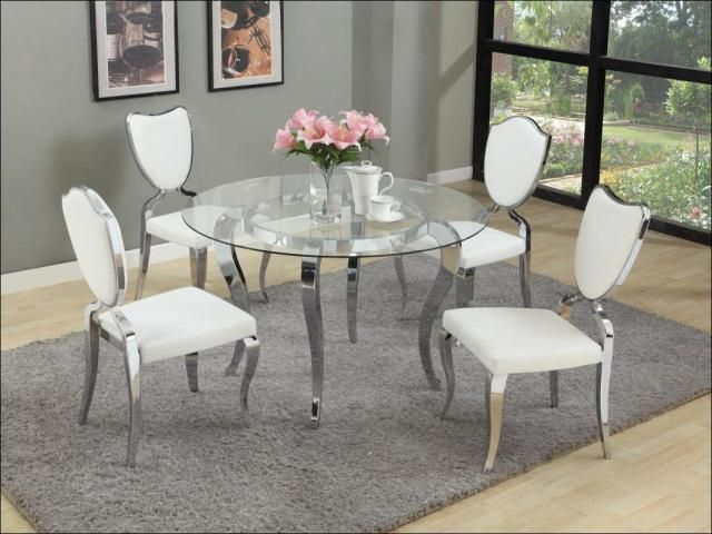 47 Perfect Small Dining Room Sets Ideas  Small Dining Rooms Entrancing Glass Dining Room Set Decorating Design