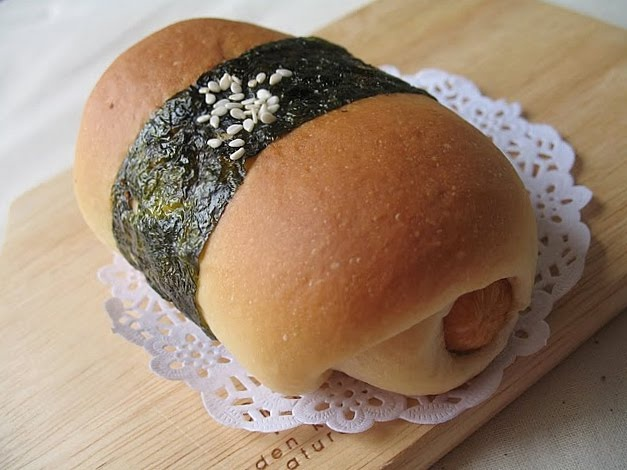 Resep Roti Sosis Rumput Laut