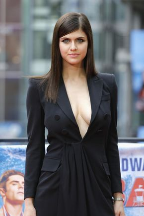 Alexandra Daddario looks like she could cast a spell