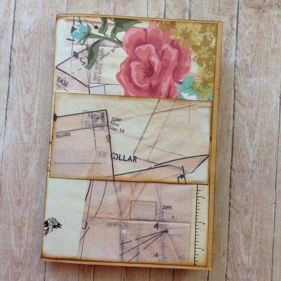 Sewing Journal. Writing Journal. Handmade by AStoryFullOfJournals