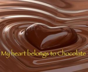 My Heart Belongs to Dark chocolate!