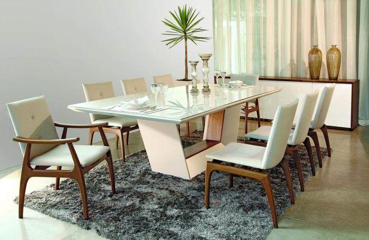 eh!DÉCOR | Sala de jantar com mesa branca