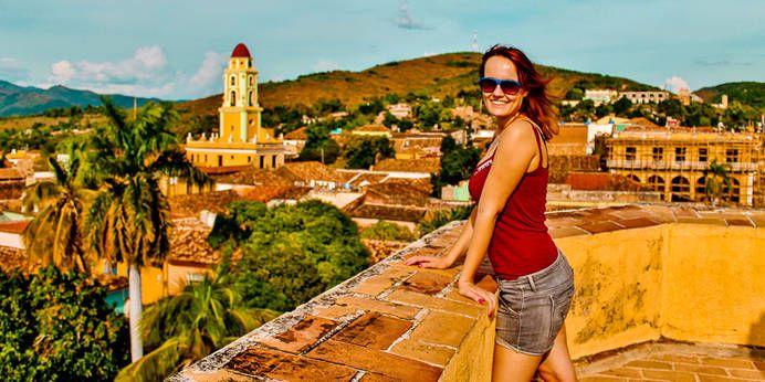 Ausblick auf Trinidad, Kuba
