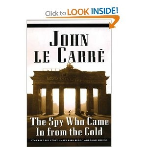The Spy Who Cam In from the Cold - John Le Carré.  I can't get enough of Cold War.