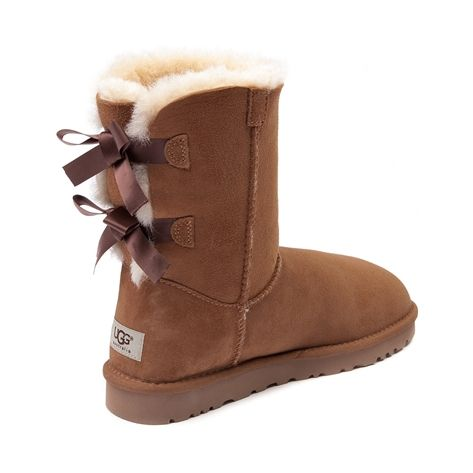 womens ugg bailey bow boot chestnut. Black Bedroom Furniture Sets. Home Design Ideas