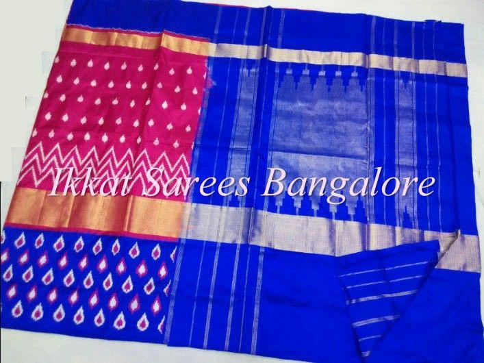 Ikkat silk saree. Price on request . Pl contact ikkatsareesbangalore@gmail.com or www.facebook.com/ikkatsareesbangalore
