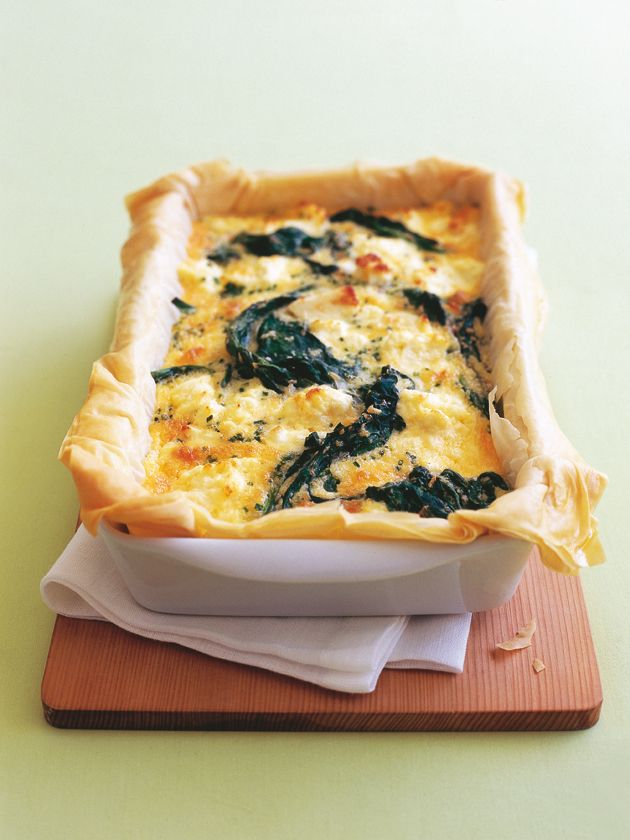Spinach and Three-Cheese Pie | Donna Hay