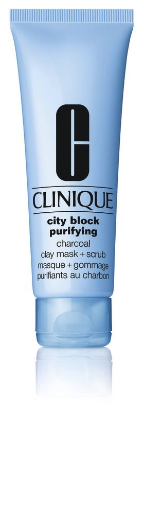 Clinique, City Block Purifying Charcoal Day Mask + Scrub | online kaufen - MANOR