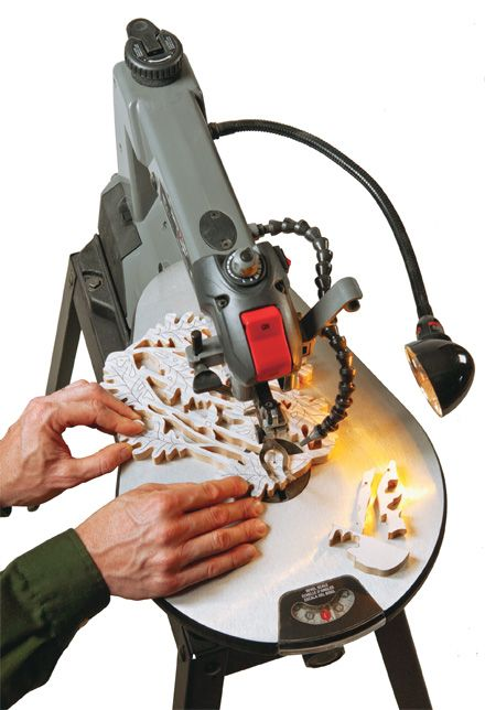 Nothing beats a scroll saw when cutting out intricate patterns and complex curves. Learn more about the best budget friendly scroll saw for your woodworking workshop.