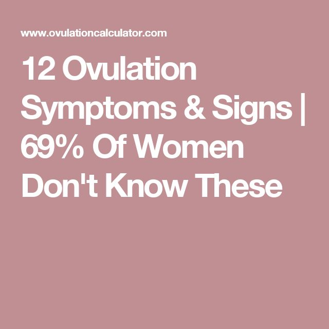 12 Ovulation Symptoms & Signs | 69% Of Women Don't Know These