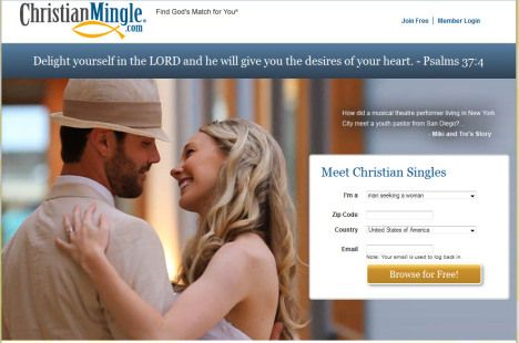 Young christian dating sites