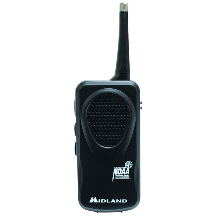 Midland  Portable Auto Scan NOAA Pocket Emergency Weather Alert Radio #MIDLAND