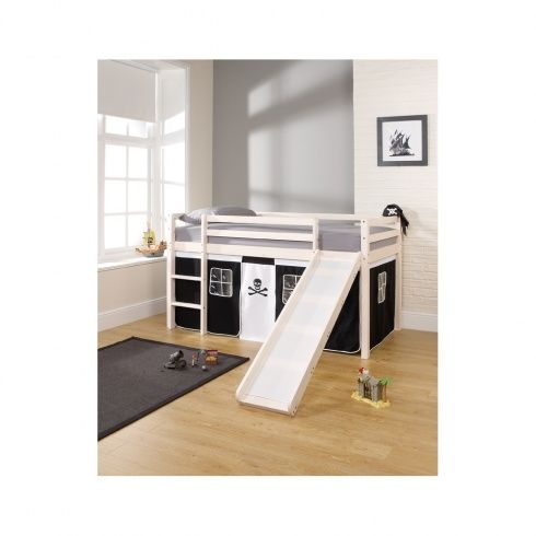 cabin bed mid sleeper with slide and pirate tent would pirates fit the nautical theme i could take the tent off or make my own tent maybe