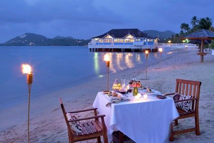 Sandals Halcyon Beach St Lucia -  Luxury Included