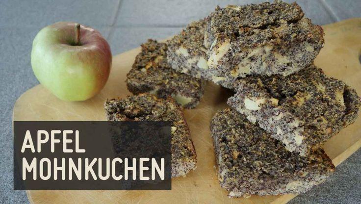 Apfel Mohnkuchen – Paleo360.de