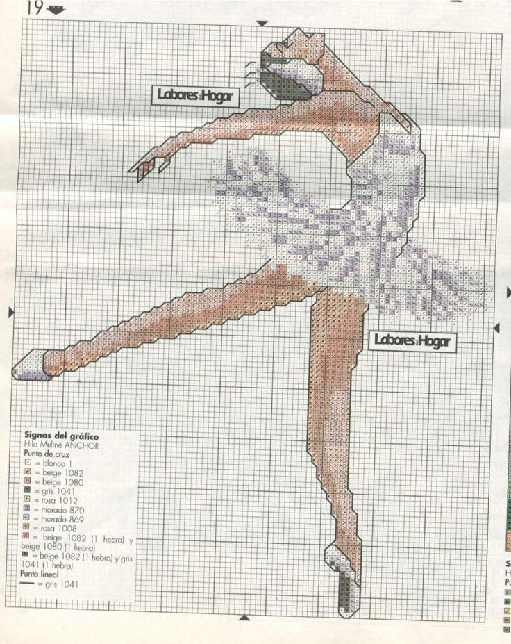 Bailarina de Ballet Clásico - en Emagister Grupos: Debate Plantillas. Solo Punto de Cruz - grupos.emagister.com