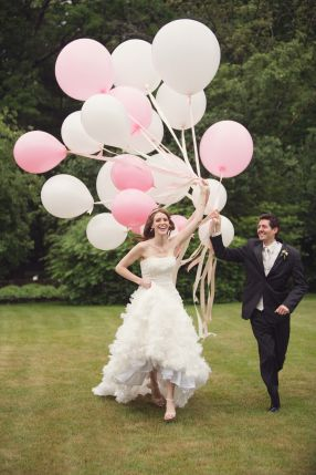 #Pink #Wedding #Balloon  #Decoration