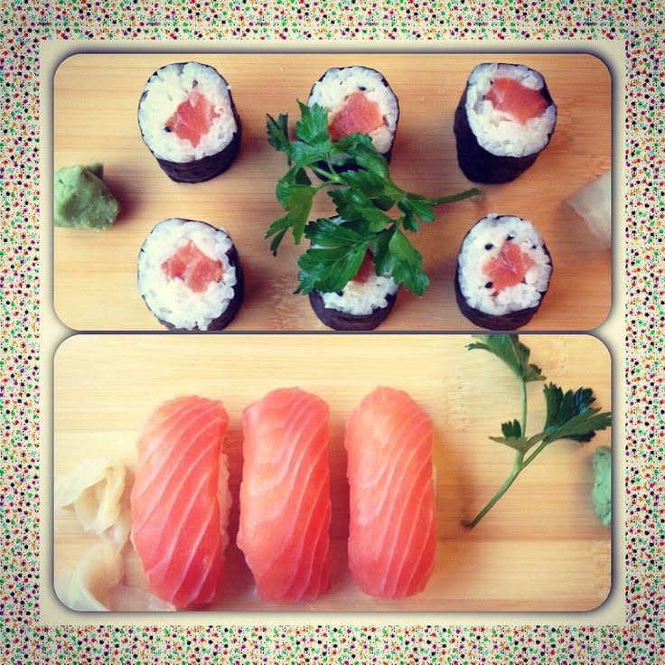 #foodporn #food #sushi #maki #rolls #nigiri #salmon #wasabi #life #photography #jj #philadelphia