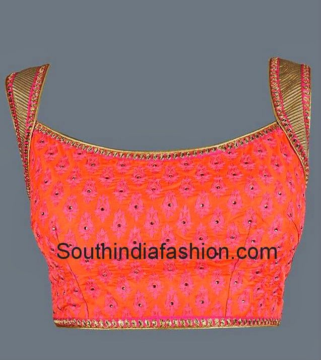 broad neck blouse