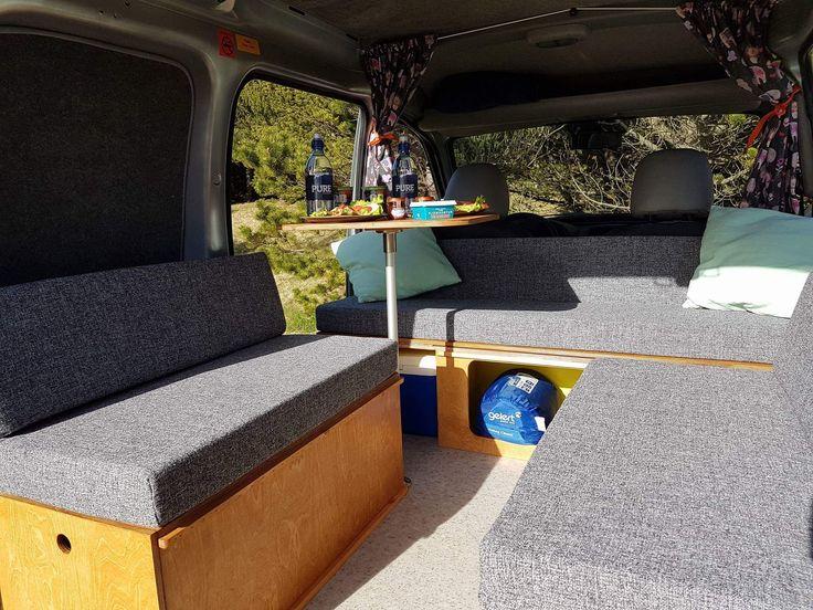 Comfortable campervan in Iceland