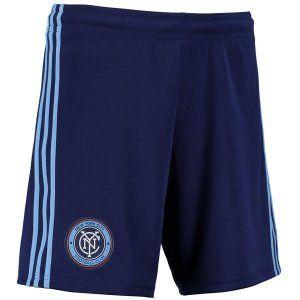 New York City FC 2017-18 Season Home Light Blue NYCFC Shorts [J866]