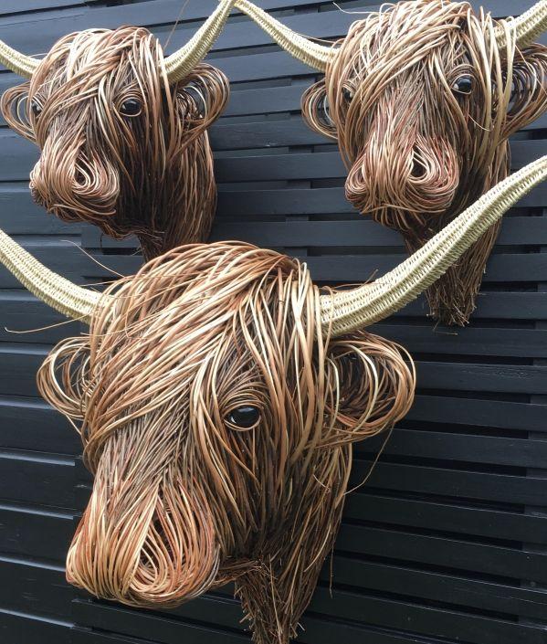 Highland Herd in 2020   Sculpture, Cow wall art, Metal ...