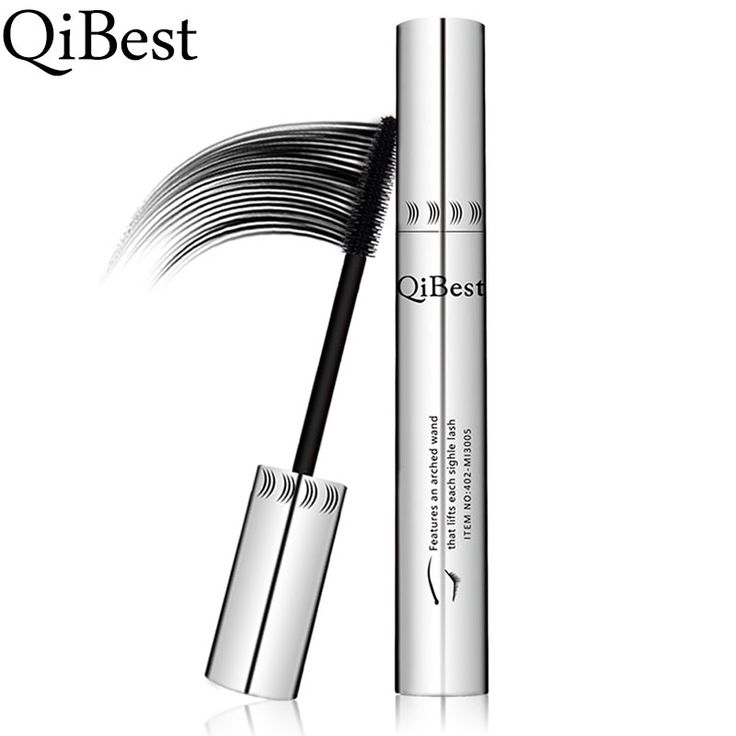 QIBEST long silicon colossal mascara 3d mascara volume express mascara waterproof black mascara de cilio Rimel younique