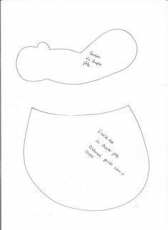 Molde Muñeco Bebé en Fieltro Precioso y dulce muñeca Bebé niña hecho en fieltro, También puedes personalizarlo hacerlo en otro color y dar tu toque personal. Patrón Muñeca de FieltroMoldes muñeca embarazada en fieltroDIY para hacer una bailarina de fieltroPatrón de muñeca con florMuñeca bebé al revésPatrón para hacer muñecas sirenas de fieltro …