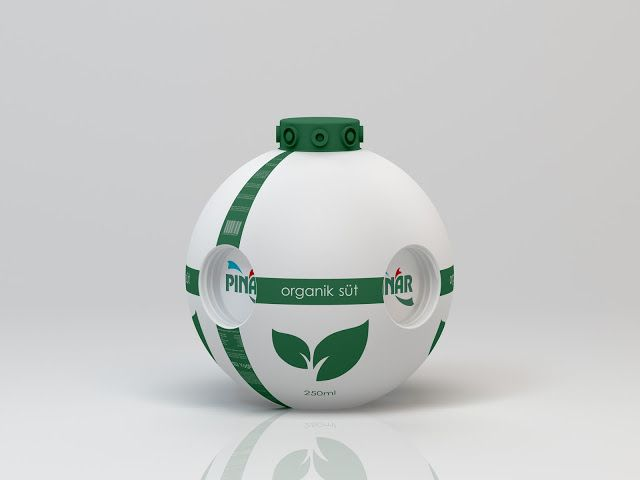 PINAR SUT Milk & Juice Bottle (Concept) on Packaging of the World - Creative Package Design Gallery