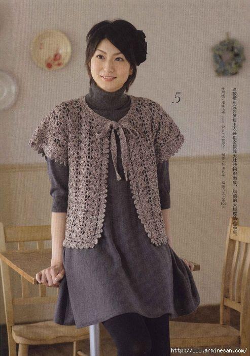 Wear moda de zi cu zi - REVISTA JAPONEZĂ de împletitură. Discuție despre LiveInternet - Serviciul Rusă Online Zilnice