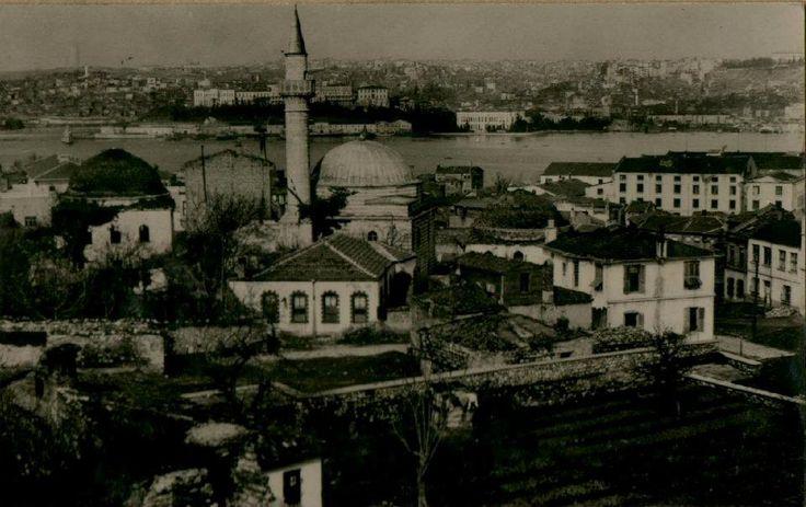 Aşık Paşa Camii ve çevresi, Cibali / Fatih Encümen Arşivi, 1936
