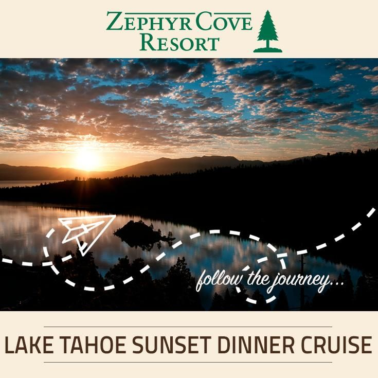 Lake Tahoe sunset dinner cruises provide fresh and delectable menus as you cruise against a backdrop of astonishing views over Emerald Bay.