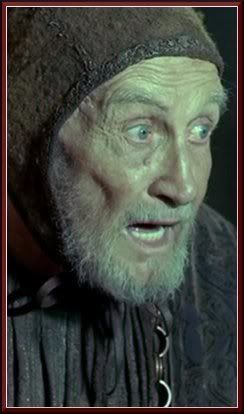 Wisdom Hallyne  Also Known As: Pyromancer  Status: Alive  Titles: Wisdom  Location: King's Landing  Portrayed by: Roy Dotrice
