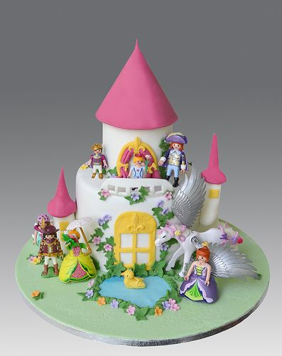 Playmobil Princess Castle Cake