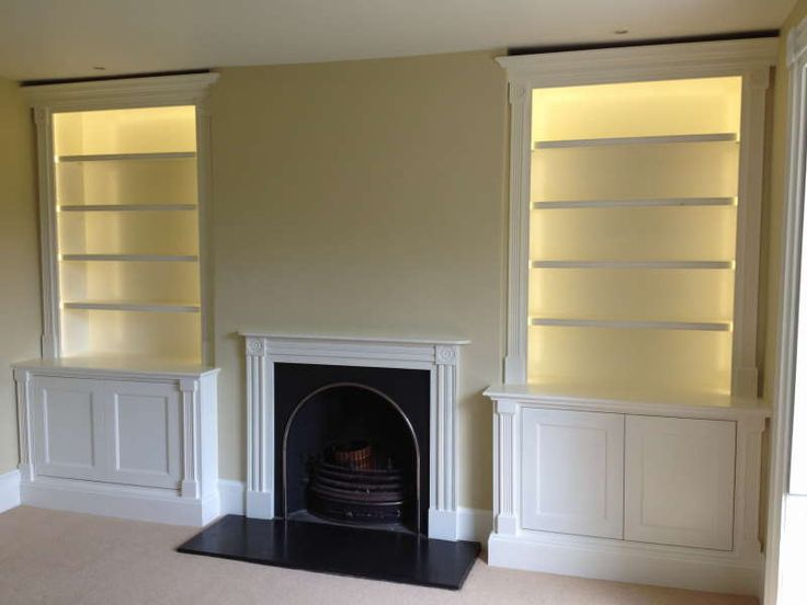 Alcove units Kent, floating shelves London, Alcove cupboard installation Kent