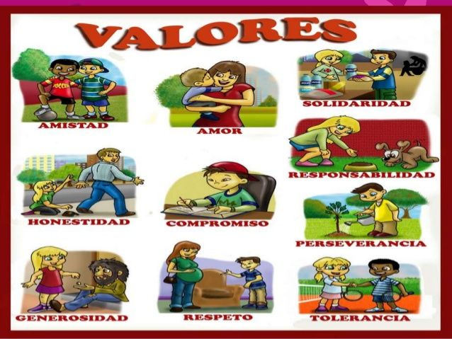 F.C.06. Los valores forman parte de nuestras actitudes, las personas que no saben el significado de los valores , es por que les falta aprender el significado de la solidaridad, compañerismo,respeto,cooperación, etc.