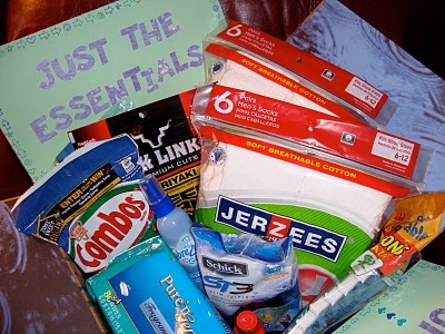224 best care package ideas images on pinterest deployment care just the essentials because even the basics deserve their own box militaryavenue deployment giftsdeployment negle Images