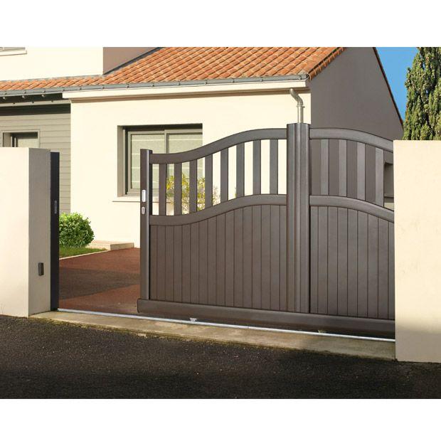 les 67 meilleures images du tableau portail aluminium sur pinterest portail aluminium portail. Black Bedroom Furniture Sets. Home Design Ideas