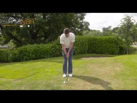 golf pitching video instruction