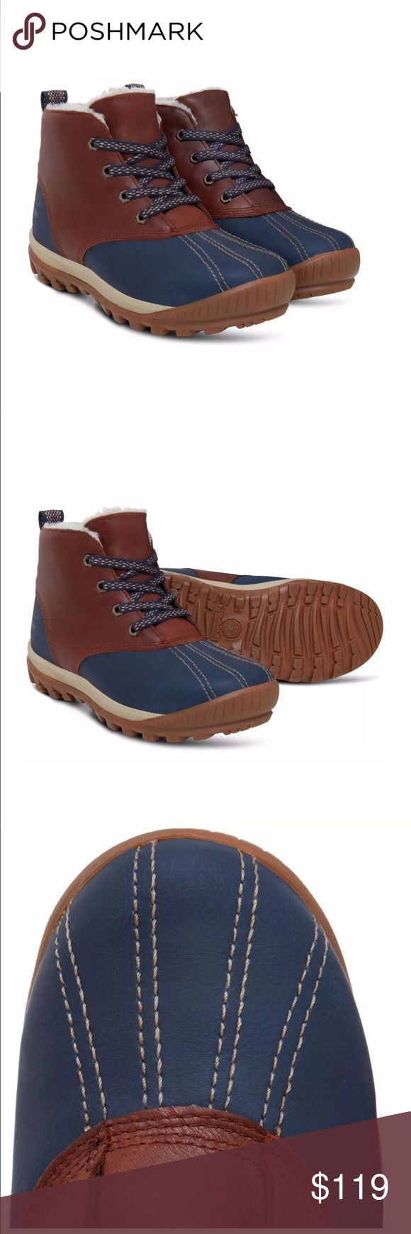 Timberland Women's Boots Timberland Women's MT. Hayes Waterproof Leather Brown Chukka Boots A1631 Timberland Shoes Winter & Rain Boots