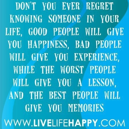 livelifehappy: Life Quotes, Remember This, Inspiration, No Regrets, Life Lessons, Happy, Living Life, Memories, People