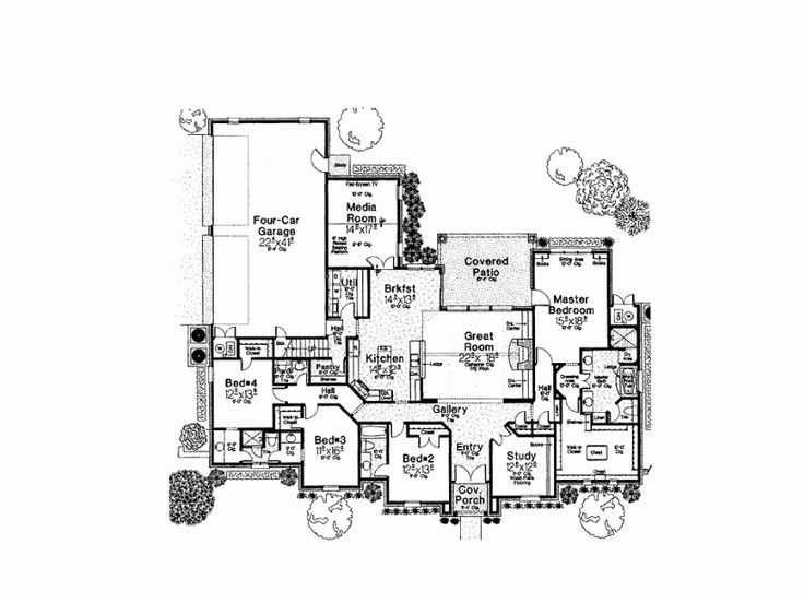 98 best House plans images on Pinterest | Homes, Future house and ...