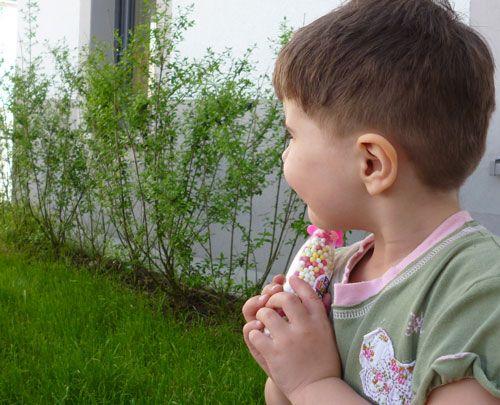 Kleine Tabus: ein Jungshaarschnitt für ein kleines Mädchen | Mama arbeitet