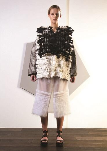 Rebecca Swann, NTU BA (Hons) Fashion Knitwear and Knitted Textiles Design