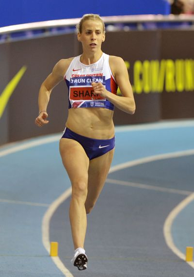 Lynsey Sharp, Women's 800 Meters,   Copyright B&O Press Photo