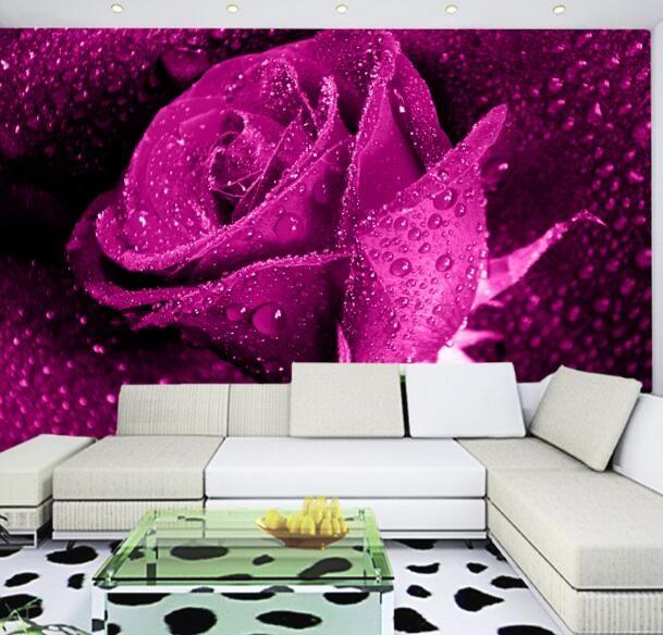 49 best Flower Mural images on Pinterest | Flower mural, Wall murals ...