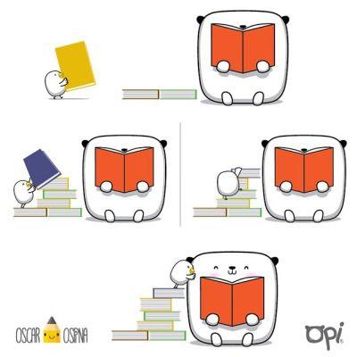 Esto si es dar un LI-BRAZO #opi #kipi #cute #kawaii #mostropi #ilustración #illustration