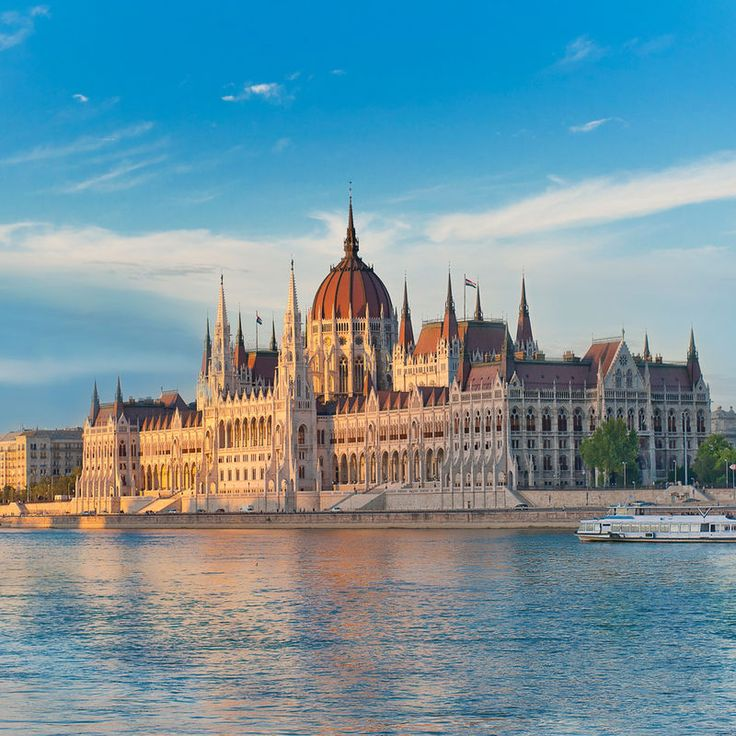 Buda Castle Fashion Hotel Budapest, Hungary Architecture Buildings City Historic Waterfront sky outdoor water landmark Harbor vacation skyline reflection scene cityscape tourism Sea evening dusk cathedral panorama Resort day